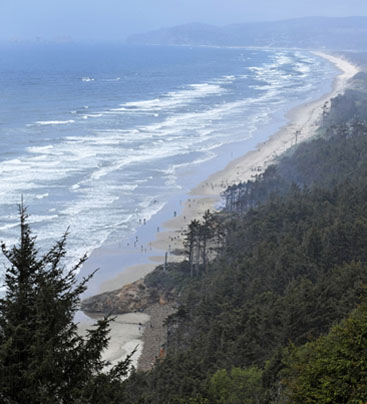 three capes scenic look oregon beach ocean front